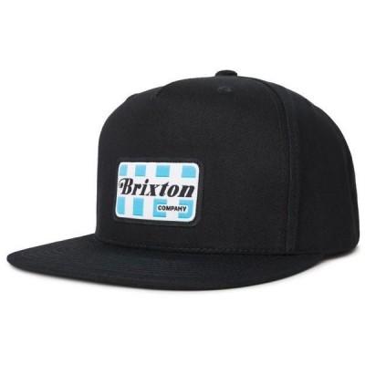 Brixton Mckinley Hp Snapback Hat Cap Black キャップ 送料無料