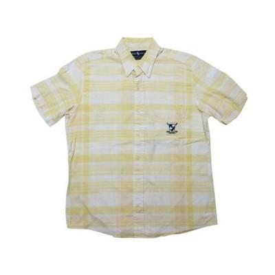 Ralph Lauren ラルフローレン チェック 半袖 ボタンダウンシャツ