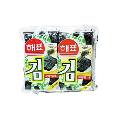 『ヘピョ』味付けのり(弁当用・10個x8枚) 韓国のり 韓国海苔 韓国食材 韓国料理 韓国食品