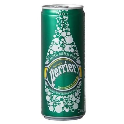 ペリエ ナチュラル 炭酸水 (330ml*24缶入)