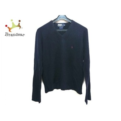 ポロラルフローレン POLObyRalphLauren 長袖セーター サイズM メンズ ダークネイビー   スペシャル特価 20210107