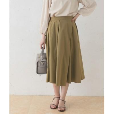 URBAN RESEARCH ROSSO WOMEN / ランダムタックスカート WOMEN スカート > スカート