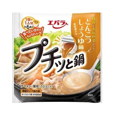 エバラ プチッと鍋 とんこつしょうゆ鍋 (23g×6個入)×3個 (3個)