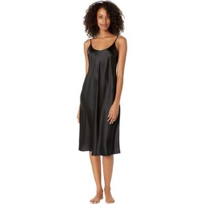 ラ ペルラ La Perla レディース パーティードレス ワンピース・ドレス Silk Night Gown Under Knee Black