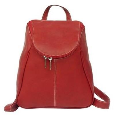 ピエール メンズ バックパック・リュックサック バッグ U-Zip Flap Backpack