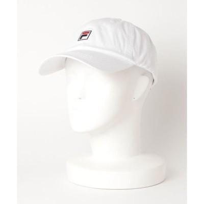 帽子 キャップ 【FILA】BOX COTTONTWILL LOW CAP