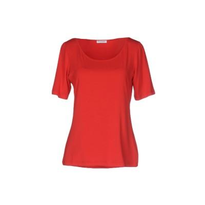 グラン サッソ GRAN SASSO T シャツ レッド 46 コットン 70% / レーヨン 20% / ポリウレタン® 10% T シャツ