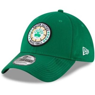 ニューエラ メンズ 帽子 アクセサリー Boston Celtics New Era 2018 Tip Off Series 39THIRTY Flex Hat Kelly Green