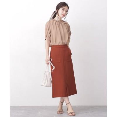 WEB限定/スリットタイトスカート