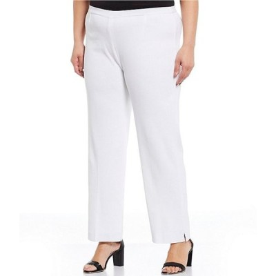 ミンウォン レディース カジュアルパンツ ボトムス Plus Size Lined Ankle Pull-On Pant