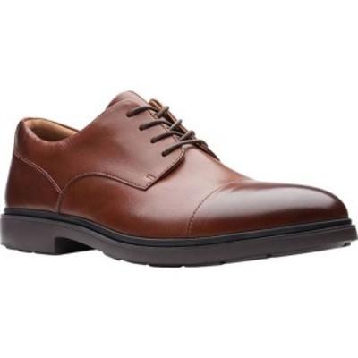 クラークス Clarks メンズ 革靴・ビジネスシューズ シューズ・靴 Un Tailor Cap Toe Oxford Tan Full Grain Leather