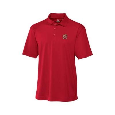 カッターアンドバック メンズ ポロシャツ トップス Big & Tall NCAA Maryland Terrapins CB DryTec Genre Polo