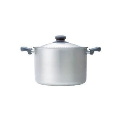 柳宗理デザインの調理器具 ステンレス両手鍋22cm(つや消し 深型)
