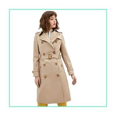 Fall Jackets for Women Trench Coats for Women Pea Coats for Women Womens Jackets for Women Fashion Long Tan Double Breasted Coat Women (Camel, S)並