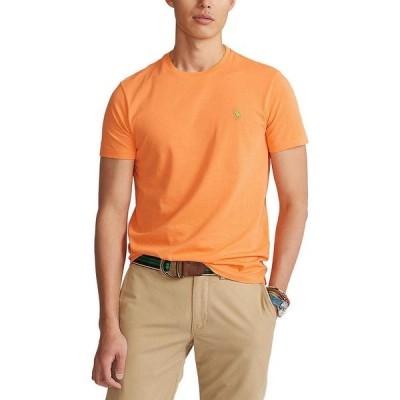 ラルフローレン メンズ Tシャツ トップス Active-Fit Short-Sleeve Tee Classic Peach