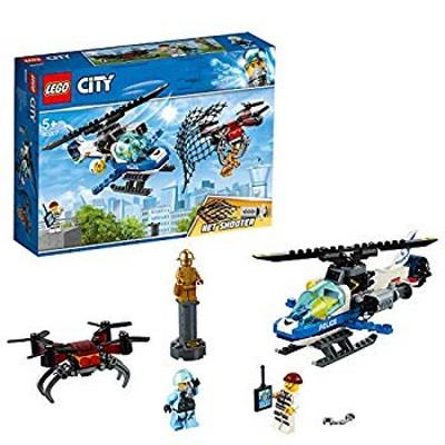 レゴ(LEGO) シティ ポリスヘリコプターのドローンチェイス 60207 ブロック おもちゃ ブロック おもちゃ 男の子 車