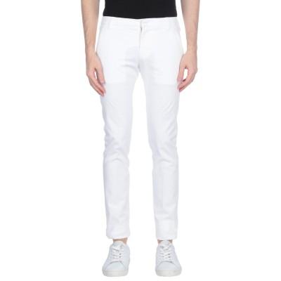 アントレ アミ ENTRE AMIS パンツ ホワイト 28 コットン 97% / ポリウレタン 3% パンツ