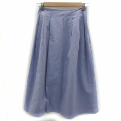 【中古】フリーズマート Free's Mart スカート フレア ロング丈 F ライトパープル 薄紫 /YM11 レディース