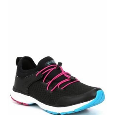バイオニック レディース スニーカー シューズ London Bungee Lace Closure Sneakers Black