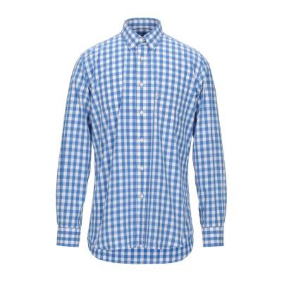 バーブァー BARBOUR シャツ ブルー S コットン 100% シャツ