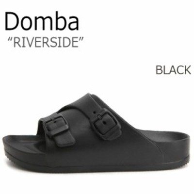 ドンバ サンダル DOMBA メンズ レディース RIVERSIDE リバーサイド BLACK ブラック EV-3021 シューズ