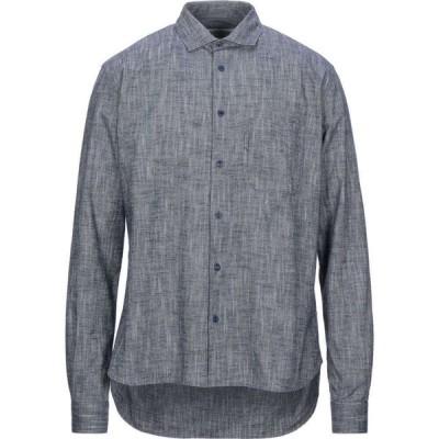 YMCユーマストクリエイト YMC YOU MUST CREATE メンズ シャツ トップス Patterned Shirt Dark blue