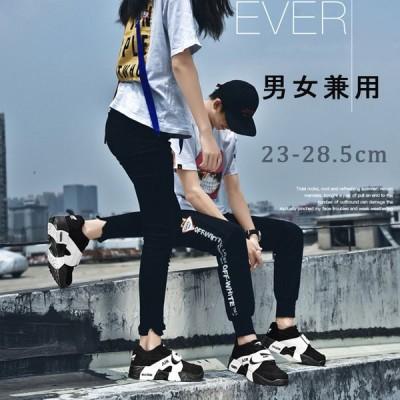 スニーカー ランニングシューズ エアクッション レディース メンズ スポーツシューズ ウォーキング 軽量日常着用 男女兼用 アウトドア カップル靴