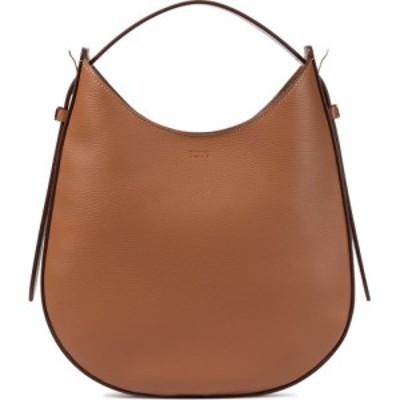 トッズ Tods レディース ショルダーバッグ バッグ oboe small leather shoulder bag Kenia Scuro