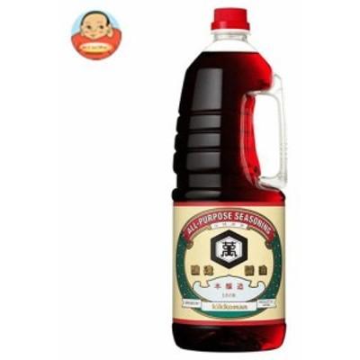 送料無料 【2ケースセット】キッコーマン こいくちしょうゆ 1.8Lペットボトル×6本入×(2ケース)