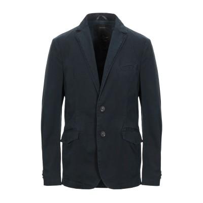 DEKKER テーラードジャケット ダークブルー M コットン 98% / ポリウレタン 2% テーラードジャケット