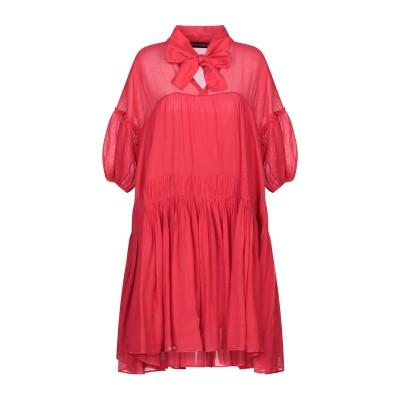 デパートメント 5 DEPARTMENT 5 ミニワンピース&ドレス レッド S コットン 100% ミニワンピース&ドレス