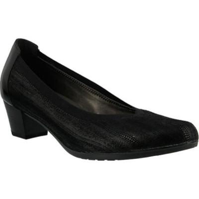 スプリングステップ Spring Step レディース シューズ・靴 サンダル Sabeti Pump Black Suede