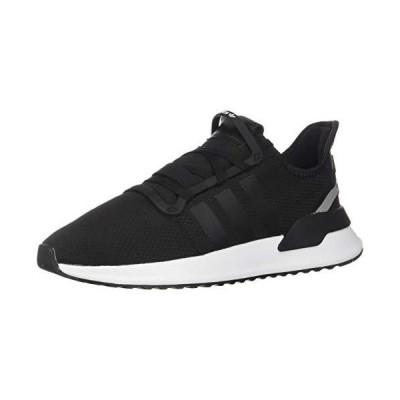 adidas Originals mens U_path Run Sneaker, Black/Black/White, 13 US