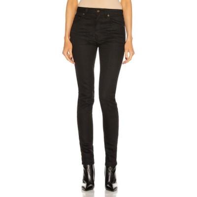 イヴ サンローラン Saint Laurent レディース ジーンズ・デニム スキニー ボトムス・パンツ Meduim Waist Skinny Jean Used Black