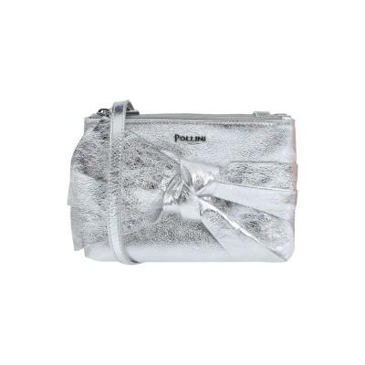 ポリーニ POLLINI メッセンジャーバッグ シルバー 牛革(カーフ) メッセンジャーバッグ