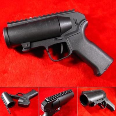 BB Shower Launcher 40mm グレネードランチャー ピストル ショーティタイプ