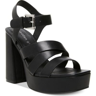 マッデン ガール Madden Girl レディース サンダル・ミュール シューズ・靴 Diggit Platform Sandals Black