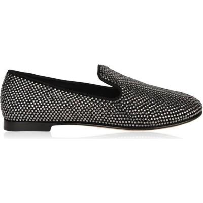 ジュゼッペ ザノッティ GIUSEPPE ZANOTTI レディース パンプス シューズ・靴 Lindy Slip On Embellished Pumps Black