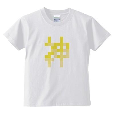 神 キッズTシャツ(カラー : ホワイト, サイズ : 140)