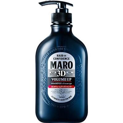 3Dボリュームアップ シャンプー EX [ジェントルミントの香り] MARO マーロ 460ml メンズ