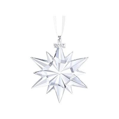 並行輸入品 Swarovski Christmas Ornament, Annual Edition 2017Figurine, Crystal, Transp