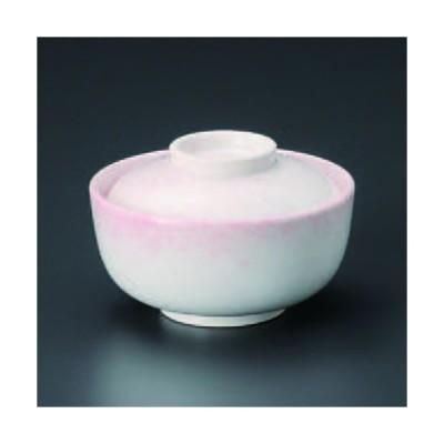 ピンク吹円菓子碗 154-07-084