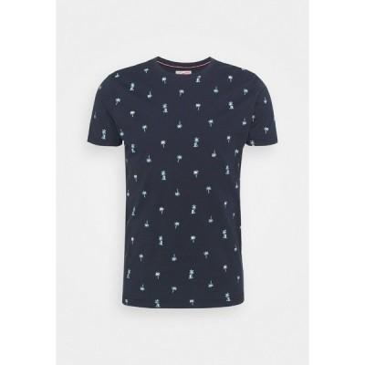 ペトロール インダストリーズ Tシャツ メンズ トップス Print T-shirt - deep capri
