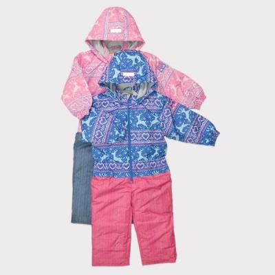 SALE トドラー女児ジャンプスーツ スキーウエア、スノーボードウエア、雪遊び、ワンピース、つなぎ、ジャンプスーツ、キッズ、子供、通園通学、撥水加工