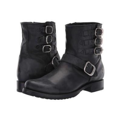フライ Frye レディース ブーツ シューズ・靴 Veronica Belted Short Black Washed Oiled Vintage