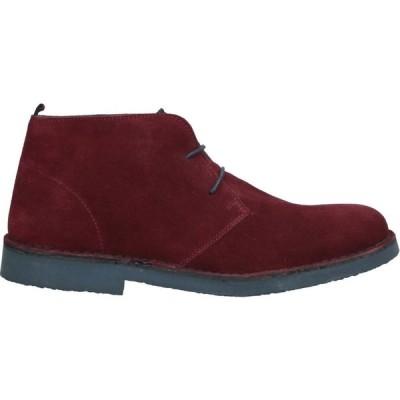 ギマ GUIMA メンズ ブーツ シューズ・靴 boots Maroon