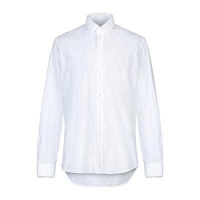 グランシャツ GLANSHIRT シャツ ホワイト 42 コットン 100% シャツ