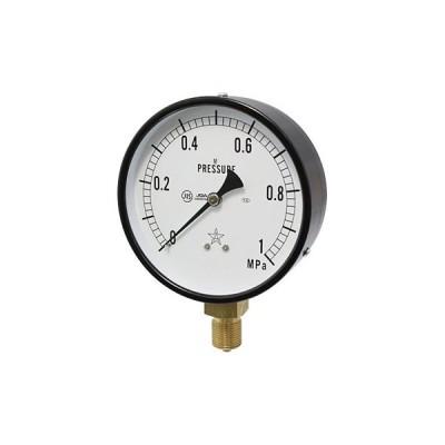 一般蒸気用圧力計 右下精器製造 G411-211-M-1MP