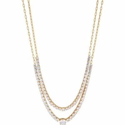 ナディール NADRI レディース ネックレス ジュエリー・アクセサリー Frost Layered Necklace Gold