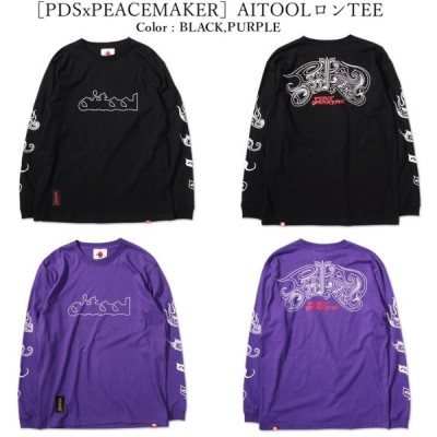 PUNK DRUNKERS パンクドランカーズ [PDSxPEACEMAKER]AITOOL ロン TEE